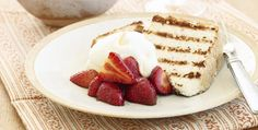 Store-bought angel food cake goes gourmet when it's grilled and topped with sweetened balsamic-soaked strawberries.