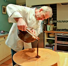 Barry Colenso personally tastes every #chocolate to ensure it deserves to be in a @Cocoa Boutique tasting selection. And trust us, he is very fussy indeed! His particular attention to detail hails from his days as the youngest Head of Patisserie at the Savoy Hotel, London. It was during his time here he created Chocolate delights for Royalty including the Queen and the Queen's Mother.