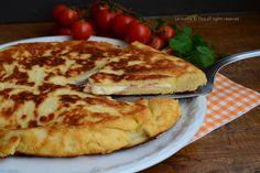 Focaccia di patate in padella senza lievitazione