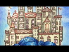 DAYDREAMS - DAGDROMMAR by Hanna Karlzon - color along - Faber Castell polychromos  pencils - YouTube