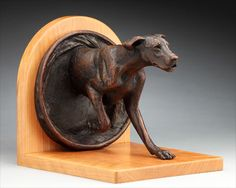 Louise Peterson - Great Danes - In-n-Out, bronze edition