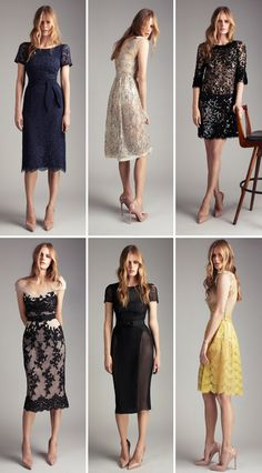 collette dinnigan...love the lace,sheer & sparkly details!
