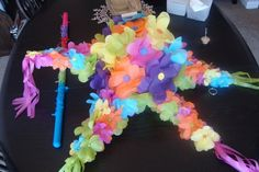 Here are instructions to make a star pinata from Joanne at Dabbled