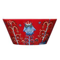 Taika bowl 0,6 l, red