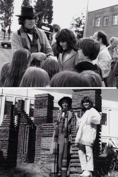 Tom Baker and Elisabeth Sladen.