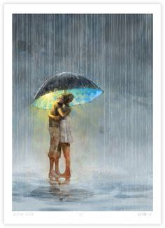 Nær deg, under en paraply, er regnet ganske fint. Under My Umbrella, Caravaggio, Lisa, Photos, Pictures, Diy Art, Illustration Art, Artsy, Art Prints