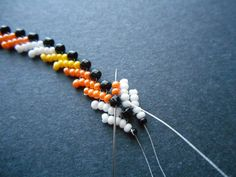 How to Bead a Candy Corn Bracelet - Bead&Button Magazine Community - Forums, Blogs, and Photo Galleries