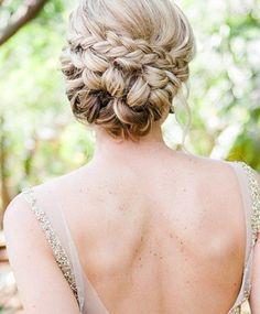 braided updo //