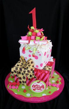 Sadie's First Birthday Christmas Cake | Flickr - Photo Sharing!