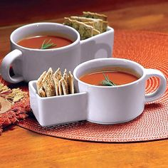 Soup Mug with Side Pocket