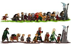The Company of Thorin and the Fellowship of the Ring :)