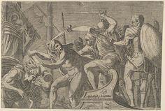Léon Davent | Hercules Fighting Aboard The Argonauts' Ship | The Met