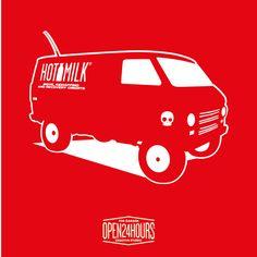 Hotmilk van sold out www.open24hours.cc