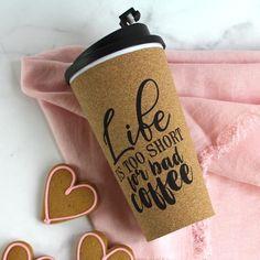 Life's Too Short Travel Mug