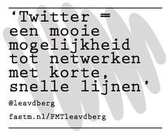 Twitter volgens @leavdberg