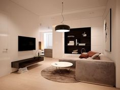 Black and white design can look very modern. The Smithfield S Suspension. Designed by Jasper Morrison