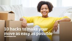 Finding a new home is exciting but having to pack everything up and actually moving it can be a complete pain! Do not fret – we are here to help with 10 hacks that can make your move easier than you thought!