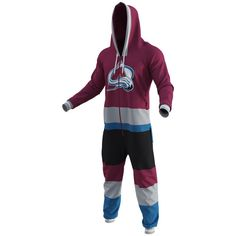 Colorado Avalanche Hockey Jersey Jumper - Burgundy