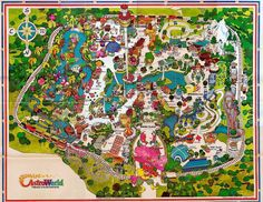Astroworld-Houston Texas  1970's