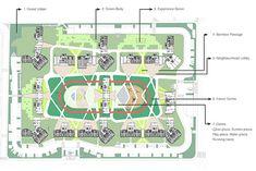 IPARK, Daegu Wolbae building for Hyundai Development Company - South Korea design by UNStudio Architects - two new residential developments Urban D, Korea Design, Running Track, Green Bodies, Daegu, South Korea, The Neighbourhood, The Unit, Track Field