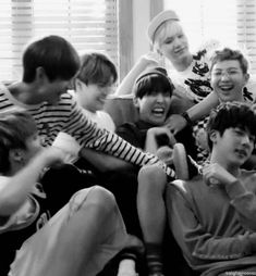 BTS| Only Bangtan // My bbys, But jin looks so done and fed up with their shit lmao