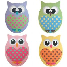 It's A Hoot! Owl Emery Boards (pack of 2)