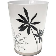 Better Homes and Gardens Tranquil Leaves Decorative Bath Collection - Wastecan