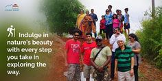 #Indulge in nature's beauty with every step you take in #exploring the way at #ChukkiMane