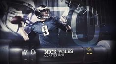 Top 100 of 2014. Voted #70 QB Nick Foles.