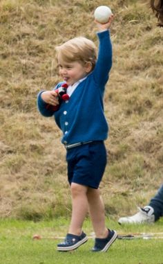 Today one of our all-time favoritetots turns 3. Prince George, the boy who will one day be king ...