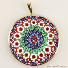 I love real millefiori (not that fake acrylic junk).  Mine is my favorite piece of jewelry!