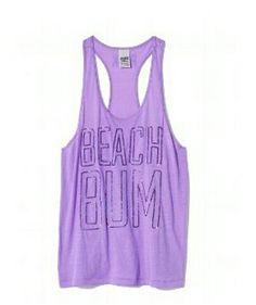 Pink Beach Bum tank