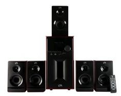 1000W 5.1 Home Multi Media Surround Sound Speakers System USB Best Brands Electronics Hardware Electrical Tools