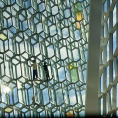Harpa Concert and Conference Centre by Henning Larsen Architects  Prison inspiration