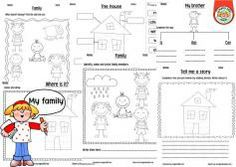 My family worksheets