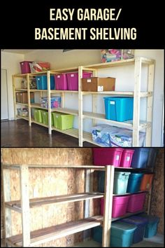 New How to organize My Basement