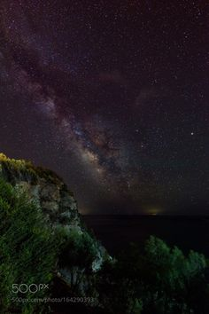 Limnionas Milky Way  The Milky Way shot in a location with minimal light pollution. The westend of Samos is is thinly populated area with only a few small villages. It shows in the clarity of the Milky Way. The distant faint lights at the horizon are  ships far out at sea.  Camera: NIKON D750 Lens: 16.0-35.0 mm f/4.0 Focal Length: 16mm Shutter Speed: 30sec Aperture: f/4 ISO/Film: 3200  Image credit: http://ift.tt/2a0sLWt Visit http://ift.tt/1qPHad3 and read how to see the #MilkyWay  #Galaxy…