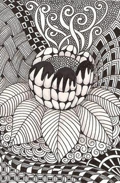 doodles - More doodle ideas - Zentangle - doodle - doodling - zentangle patterns. zentangle inspired - #zentangle #doodling #zentanglepatterns