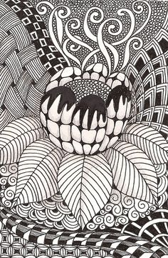doodles - More doodle ideas - Zentangle - doodle - doodling - zentangle patterns. zentangle inspired - #zentangle #doodling #zentanglepatterns