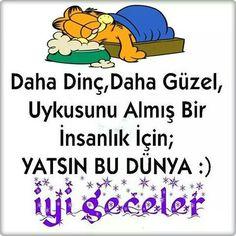 İyi geceler...