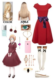"""""""Hetalia: Daughter of Liechtenstein"""" by ender1027 ❤ liked on Polyvore featuring Phase Eight, Isabel Marant, Extension Professional, Alice Joseph Vintage, Karen Kane, Christian Dior, Anne Klein, Bing Bang, women's clothing and women's fashion"""