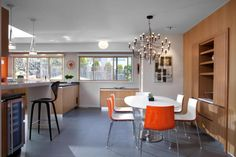 Canterbury by CCI Renovations with Flos 2097 and Flos Fucsia and Flos Glo-Ball
