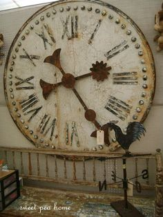 #shabby #rusty #clock