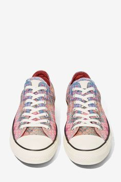 Missoni x Converse All Star Low-Top Sneaker - Flats | Converse | Lily