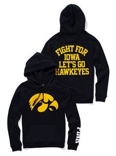 Iowa Hawkeyes hoody from Victoria Secret