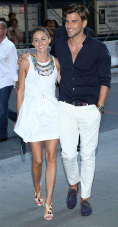 Olivia Palermo and Johannes Huebl are engaged