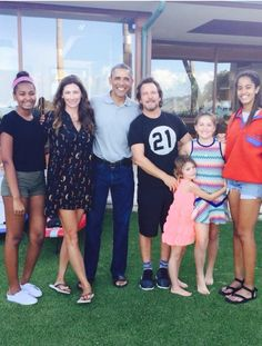 I want to be Eddie AND Obama! Lucky dudes!