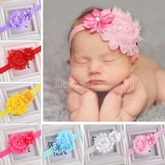Stylish Kid Girl Baby Toddler Infant Flower Headband Hair Bow Band Accessories