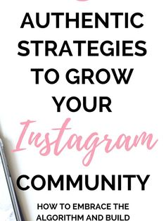 How To Grow Instagram Community