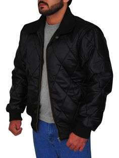 The Ryan Gosling Scorpion Drive Logo Jacket is a classic looking black jacket made from satin with full-length sleeves and a zipper style closure. Ryan Gosling Drive, Scorpion, Black Fabric, Rib Knit, Shirt Style, Bomber Jacket, Celebs, Zipper, Sleeves